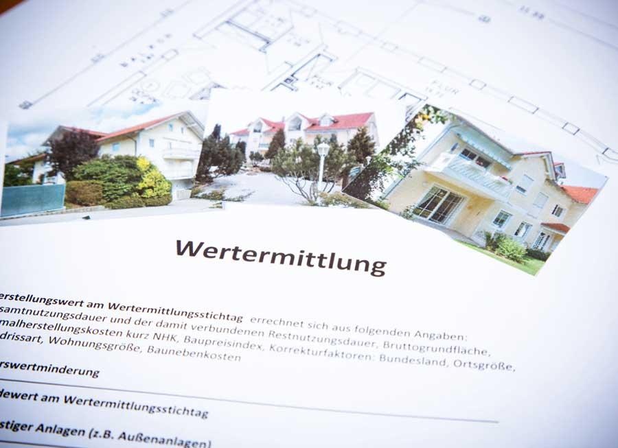 Wertermittlung Immobilien Hallabrin