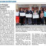 Immobilien Hallabrin - 10.4.2014 Presseartikel zum 30 jaehrigen Firmenjubilaeum