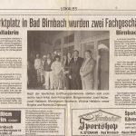 Immobilien Hallabrin - 1989 Eröffnung Büro Bad Birnbach