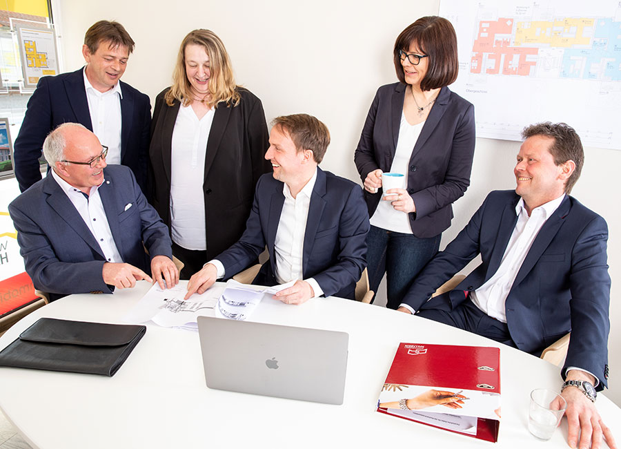 Immobilien Hallabrin – Das Team